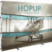Hopup 10ft Straight Full Height Tension Fabric Display